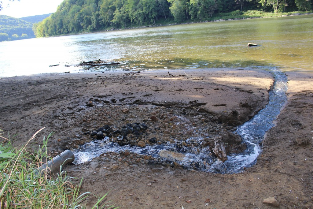 Franklin outfall