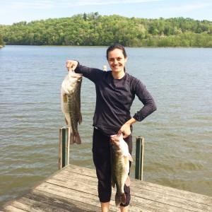 Bass, Lake Adger