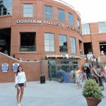 Christina attends a Durham Bulls game in downtown Durham, NC. PC: Ranee Shenoi