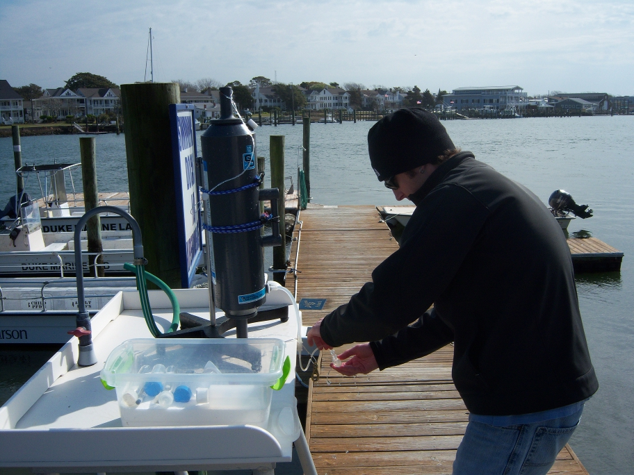 Beaufort NC Environmental Sampling