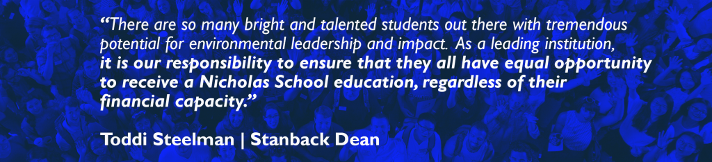 quote from Dean Toddi Steelman
