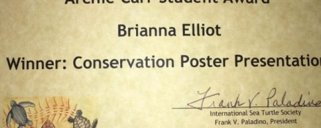 Congratulations to Brianna Elliott