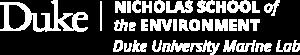 Duke University Marine Lab logo