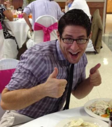 Anthony Oliveri - Thumbs up for science!