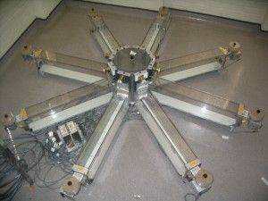 Radial arm maze used for testing learning and memory in rodents