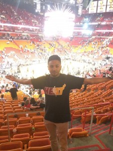 Roy and the Miami Heat!