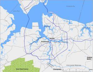 ER Area Map
