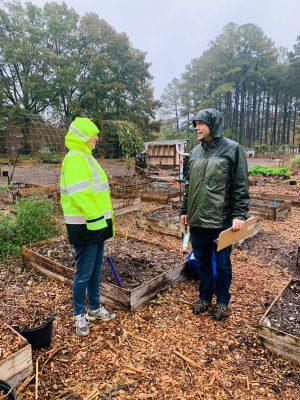 Talking with a Garner Grows gardener
